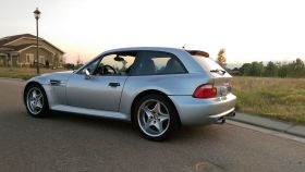 1999 BMW M Coupe Arctic Silver over Estoril Blue