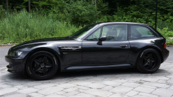 2000 BMW M Coupe in Cosmos Black Metallic over Black Nappa