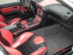 2001 BMW M Coupe in Titanium Silver Metallic over Imola Red & Black Nappa - Interior