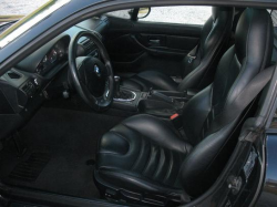 1999 BMW M Coupe in Cosmos Black Metallic over Black Nappa - Interior
