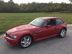1999 BMW M Coupe in Imola Red 2 over Dark Gray & Black Nappa