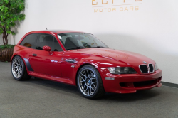 1999 BMW M Coupe in Imola Red 2 over Black Nappa