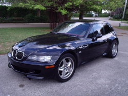 1999 BMW M Coupe in Cosmos Black Metallic over Imola Red & Black Nappa
