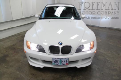 2000 BMW M Coupe in Alpine White 3 over Evergreen & Black Nappa