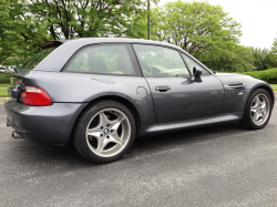 2000 BMW M Coupe in Steel Gray Metallic over Dark Beige Oregon