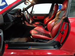 2000 BMW M Coupe in Imola Red 2 over Imola Red & Black Nappa