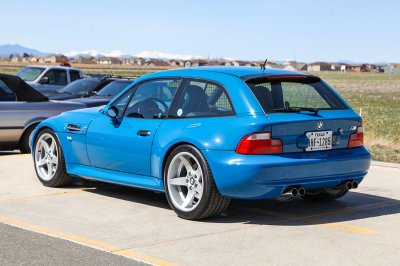 2001 BMW M Coupe in Laguna Seca Blue over Laguna Seca Blue & Black Nappa