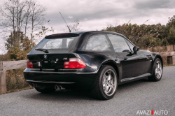 2001 BMW M Coupe in Black Sapphire Metallic over Black Nappa