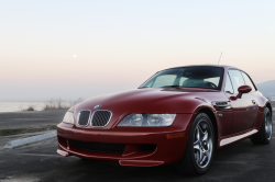 2002 BMW M Coupe in Imola Red 2 over Dark Gray & Black Nappa