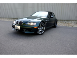 2002 BMW M Coupe in Oxford Green 2 Metallic over Black Nappa