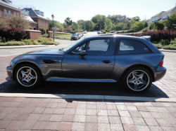 2002 BMW M Coupe in Steel Gray Metallic over Dark Gray & Black Nappa