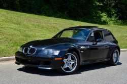 2002 BMW M Coupe in Black Sapphire Metallic over Black Nappa
