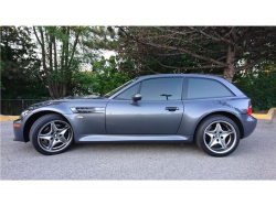 2002 BMW M Coupe in Steel Gray Metallic over Black Nappa