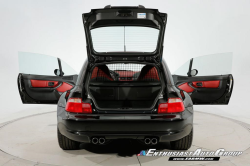 2002 BMW M Coupe in Black Sapphire Metallic over Imola Red & Black Nappa
