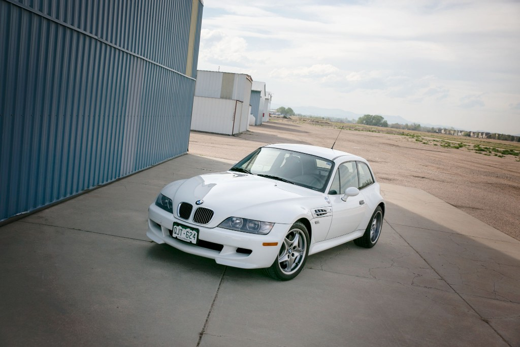 2002 BMW M Coupe in Alpine White 3 over Black Nappa