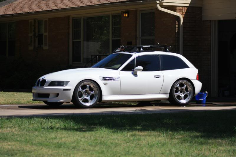 1999 BMW M Coupe in Alpine White over Dark Beige