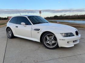 1999 BMW M Coupe in Alpine White over Black