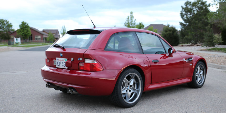 2001 BMW M Coupe in Imola Red over Imola Red