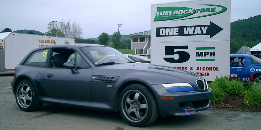BMW M Coupe Steel Gray - Limerock 2003