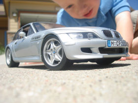 1:18 UT BMW M Coupe in Silver