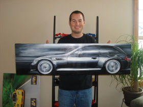 BMW M Coupe Painting