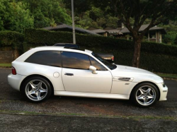 2000 BMW M Coupe in Alpine White 3 over Dark Beige Oregon