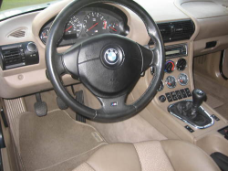 2000 BMW M Coupe in Alpine White 3 over Dark Beige Oregon - Interior