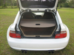 2000 BMW M Coupe in Alpine White 3 over Dark Beige Oregon - Trunk Cover