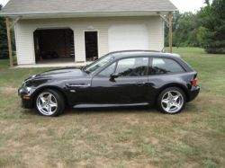 2000 BMW M Coupe in Cosmos Black Metallic over Black Nappa - Side