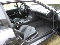 2000 BMW M Coupe in Cosmos Black Metallic over Black Nappa - Interior