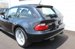 2000 BMW M Coupe in Cosmos Black Metallic over Black Nappa - Rear 3/4 Detail