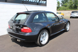 2000 BMW M Coupe in Cosmos Black Metallic over Black Nappa - Rear 3/4