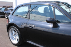 2000 BMW M Coupe in Cosmos Black Metallic over Black Nappa - Side Detail