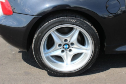 2000 BMW M Coupe in Cosmos Black Metallic over Black Nappa - Rear Passenger Wheel