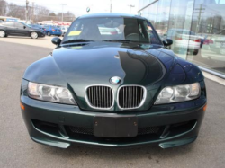 2000 BMW M Coupe in Oxford Green 2 Metallic over Black Nappa - Front