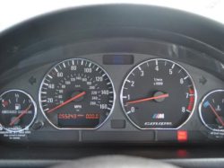 2000 BMW M Coupe in Oxford Green 2 Metallic over Black Nappa - Gauges