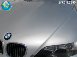 2000 BMW M Coupe in Titanium Silver Metallic over Dark Gray & Black Nappa - Hood Detail