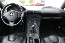 2000 BMW M Coupe in Titanium Silver Metallic over Black Nappa - Interior