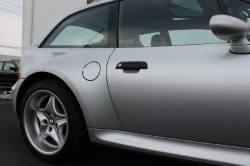 2000 BMW M Coupe in Titanium Silver Metallic over Black Nappa - Side Detail