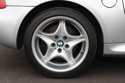 2000 BMW M Coupe in Titanium Silver Metallic over Black Nappa - Rear Passenger Wheel