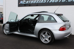 2000 BMW M Coupe in Titanium Silver Metallic over Black Nappa - Side