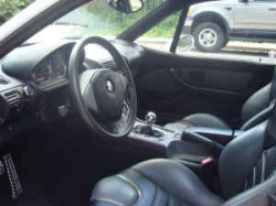 2000 BMW M Coupe in Titanium Silver Metallic over Dark Gray & Black Nappa - Interior