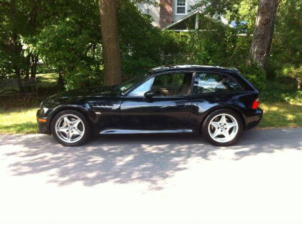 2001 BMW M Coupe in Black Sapphire Metallic over Dark Beige Oregon