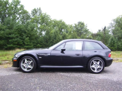 2001 BMW M Coupe in Black Sapphire Metallic over Black Nappa - Side
