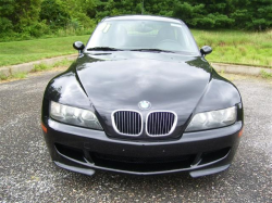 2001 BMW M Coupe in Black Sapphire Metallic over Black Nappa - Front