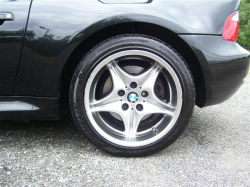 2001 BMW M Coupe in Black Sapphire Metallic over Black Nappa - Wheel