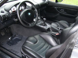 2001 BMW M Coupe in Black Sapphire Metallic over Black Nappa - Interior