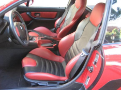 2001 BMW M Coupe in Imola Red 2 over Imola Red & Black Nappa - Interior