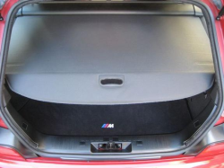 2001 BMW M Coupe in Imola Red 2 over Imola Red & Black Nappa - Trunk Cover