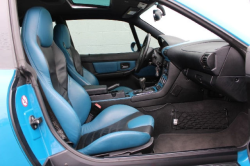 2001 BMW M Coupe in Laguna Seca Blue over Laguna Seca Blue & Black Nappa - Interior